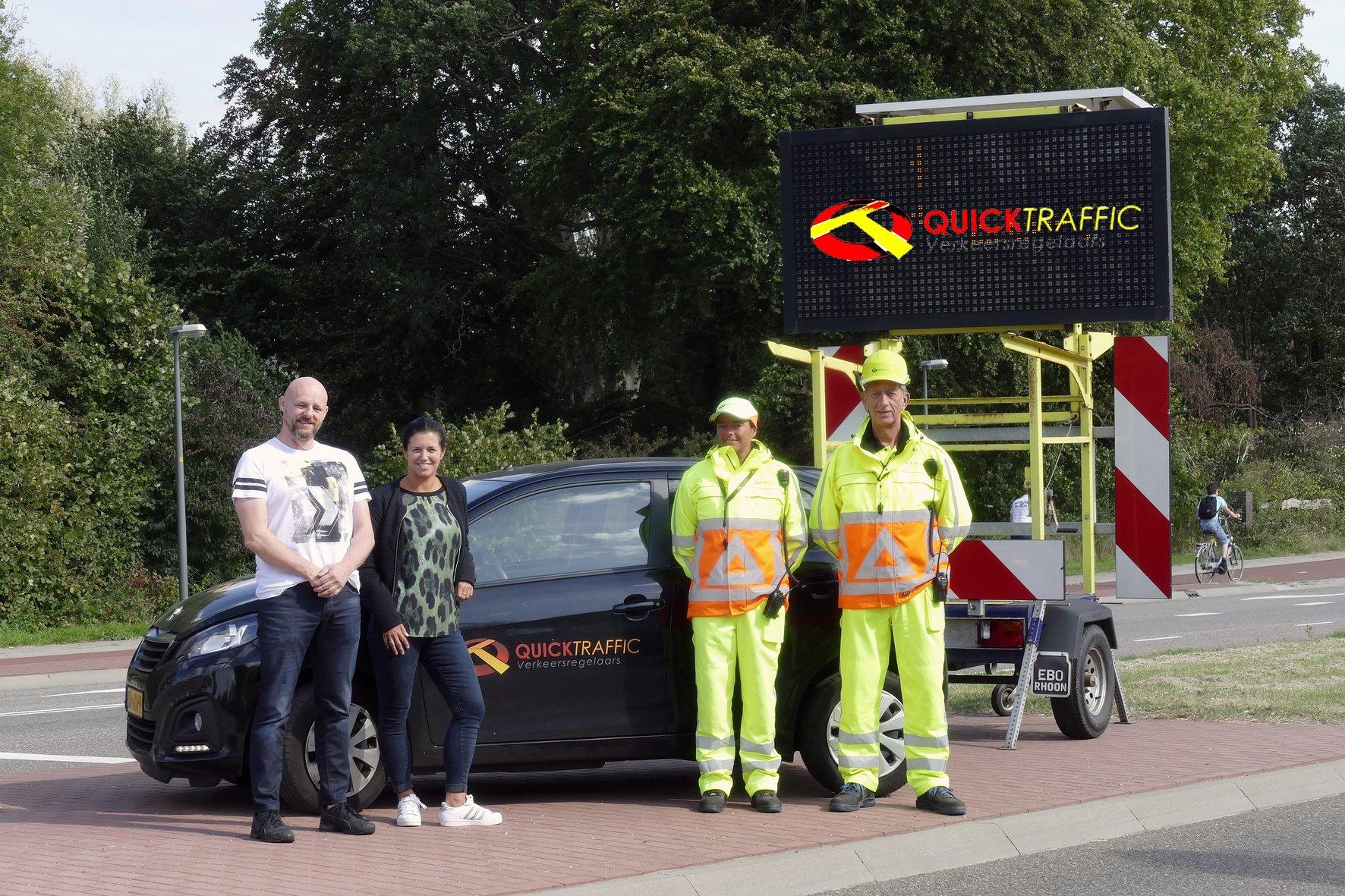 Verkeersregelaars van QuickTraffic